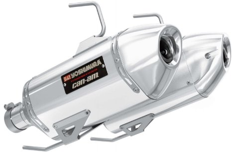 Can Am Parts SSV Yoshimura Slip-On Exhaust