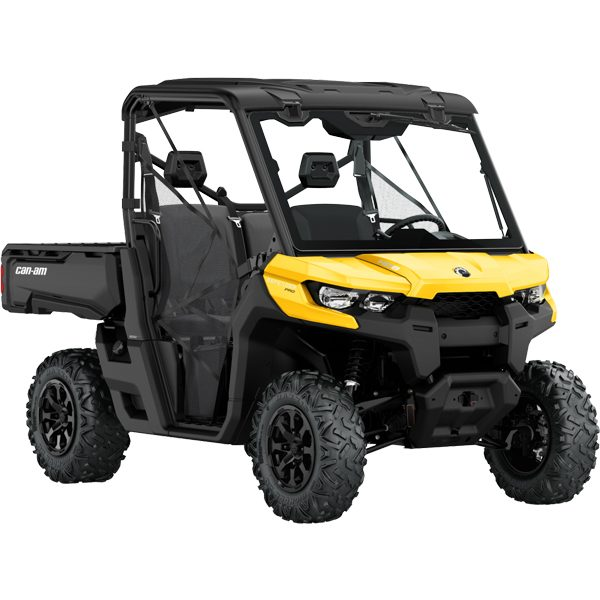 2020 Can Am Defender DPS HD8 yellow buggy for sale perth Integrated front steel bumper